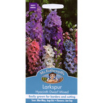 Mr Fothergill's Seeds - Larkspur Hyacinth Dwarf Mixed