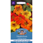 Mr Fothergill's Seeds - Nasturtium Trailing Mixed