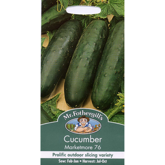 Mr Fothergill's Seeds - Cucumber Marketmore 76
