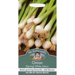 Mr Fothergill's Seeds - Spring Onion White Lisbon