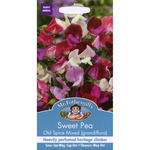 Mr Fothergill's Seeds - Sweet Pea - Old Spice Mixed (Grandiflora)