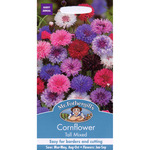 Mr Fothergill's Seeds - Cornflower Tall Mixed
