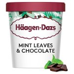Haagen-Dazs Mint Leaves & Chocolate