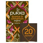 Pukka Organic Licorice & Cinnamon Tea Bags