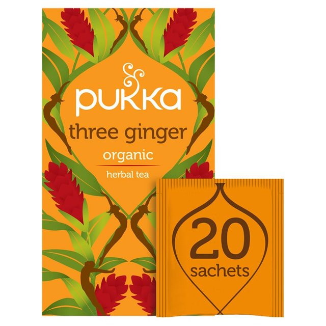-in USA- Teekanne Orange & Ginger Tea- 20 tea bags - Fruity &
