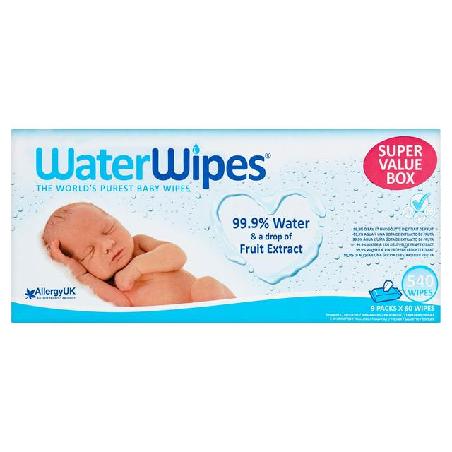 WaterWipes Sensitive Baby Wipes Super Value Pack