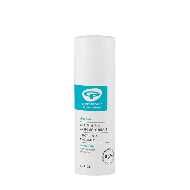 Green People 24 Hour Moisturiser, Organic Nourishing Vitamin Fix