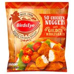 Birds Eye 50 Chicken Nuggets Frozen