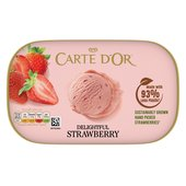 Carte D'Or Strawberry Ice Cream Dessert