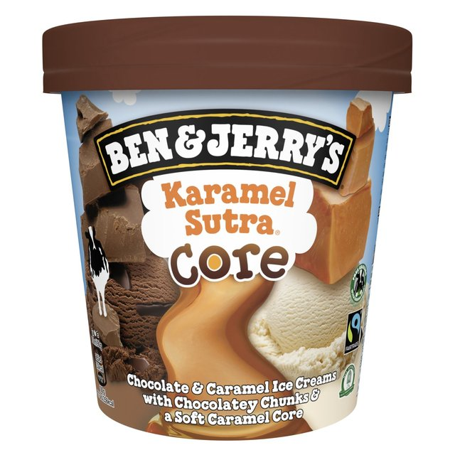 Ben & Jerry's Core Karamel Sutra Ice Cream