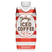Jimmy's Iced Fat Free Skinny Coffee
