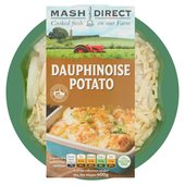 Mash Direct Potato Dauphinoise with Red Onion