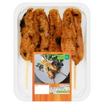 Waitrose BBQ 6 Lemongrass & Ginger Mini Fillet Kebabs