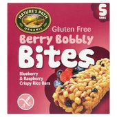 Natures Path Organic Berry Bobbly Crispy Rice Bites