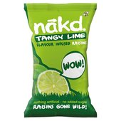 Nakd Lime Raisins