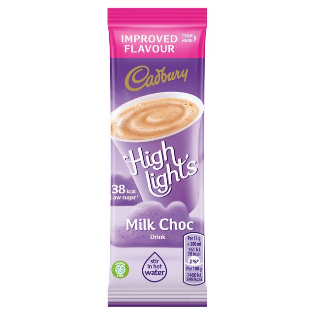 Cadbury Highlights Milk Stick Pack