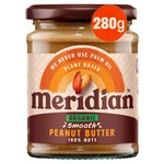 Meridian Organic Peanut Butter Smooth No Salt