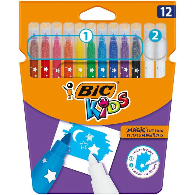 Bic Kids Mini Colour & Erase Felt Pens