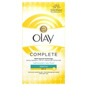 Olay Essentials Complete Care Moisturiser UV Fluid Sensitive SPF 15