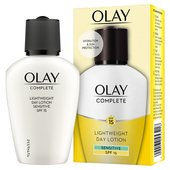 Olay Essentials Complete Care Moisturiser UV Fluid Sensitive SPF15