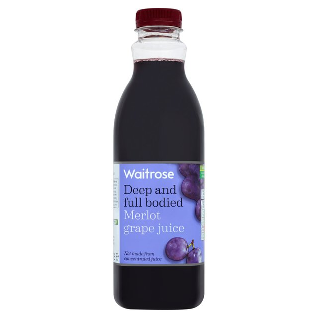 Chilled Merlot Grape Juice Waitrose