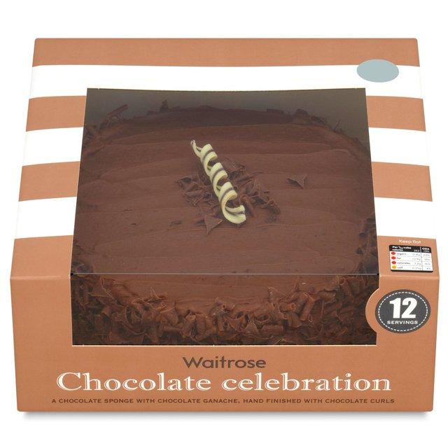 Waitrose Chocolate Celebration Cake