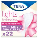 Lights by TENA Incontinence Liners Single Wrap