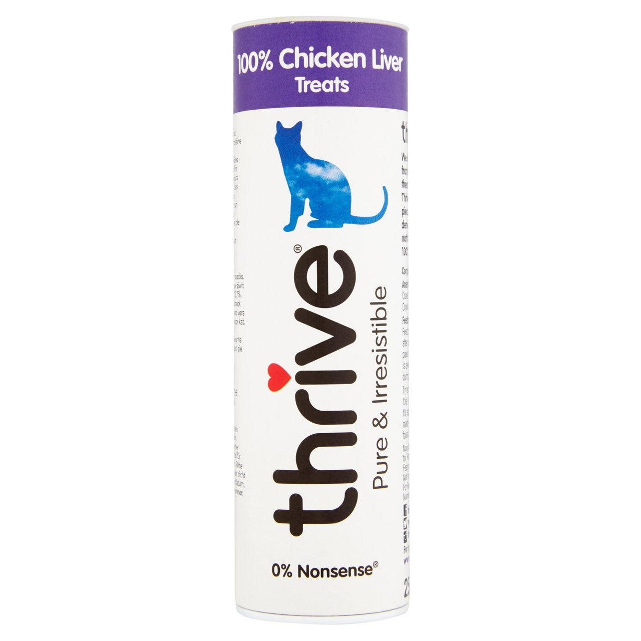 An image of Thrive 100% Chicken Liver Cat Treats