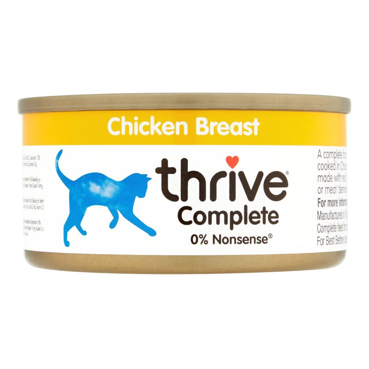 An image of Thrive Complete Chicken Breast Cat Food