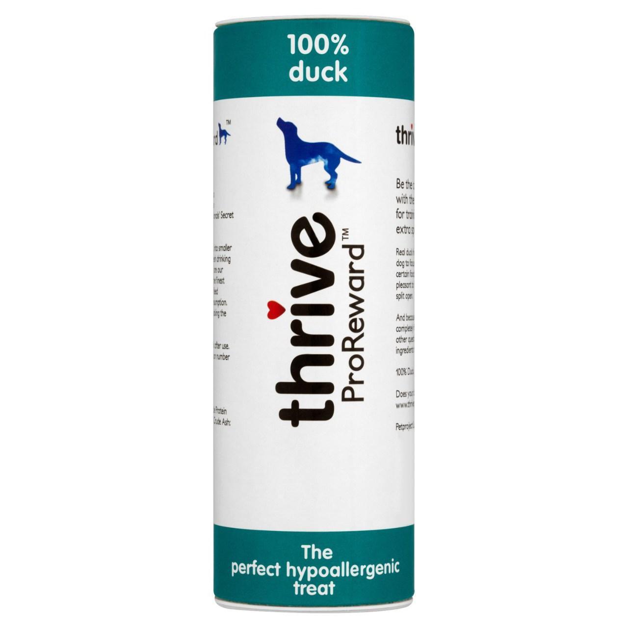 An image of Thrive ProReward 100% Duck Dog Treats