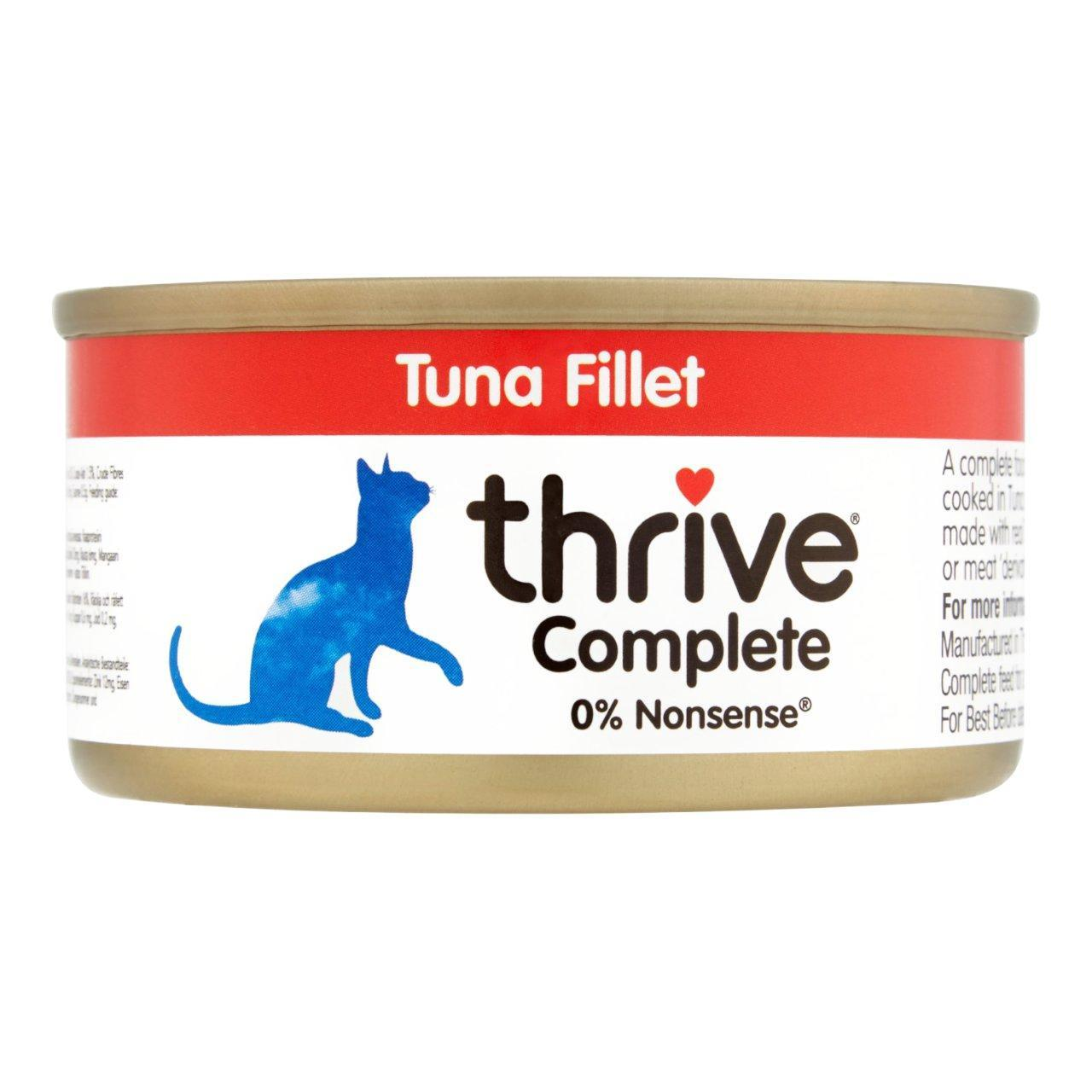 An image of Thrive Complete Tuna Fillet Cat Food