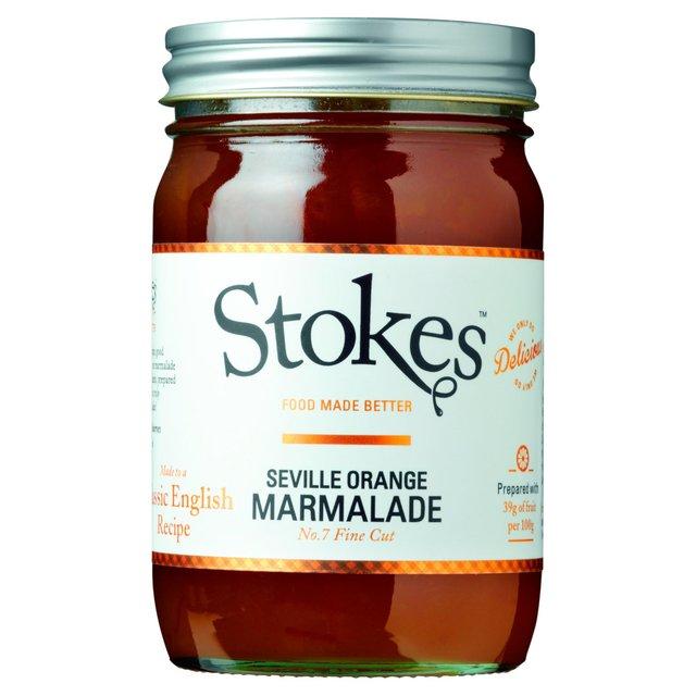 Stokes Seville Orange Marmalade No.7 454g from Ocado