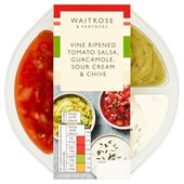 Waitrose Mini Tex Mex Mixed Dips