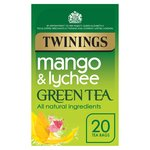 Twinings Green Tea Bags with Mango & Lychee