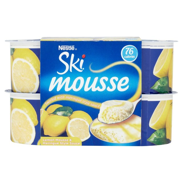 Ski Fruit Lemon Meringue Mousse