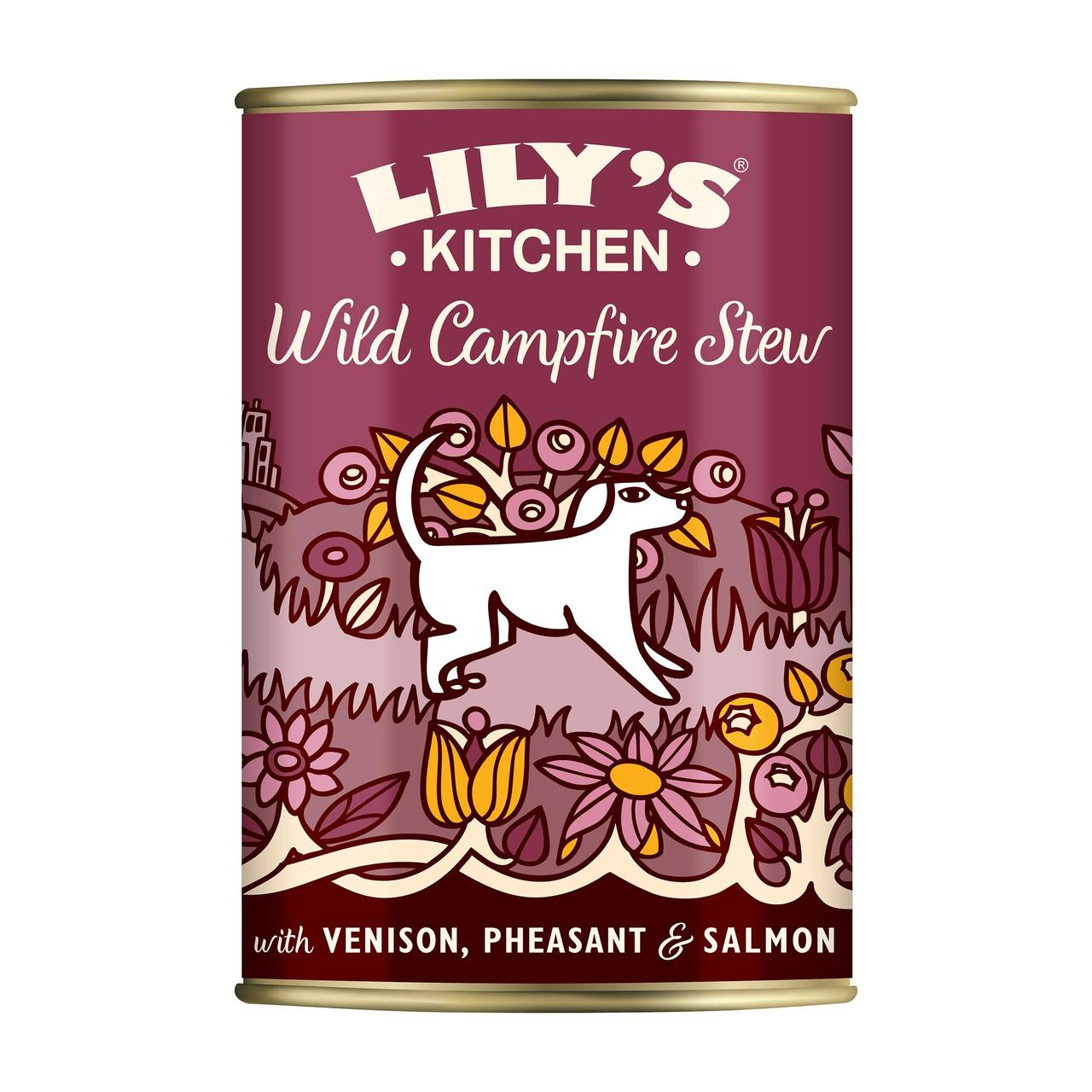 An image of Lily's Kitchen Proper Dog Food Wild Campfire Stew