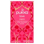 Pukka Organic Love Tea Bags