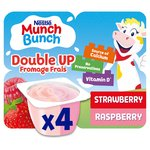 Munch Bunch Double Up Fromage Frais Strawberry & Raspberry