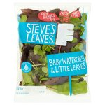 Steve's Leaves Baby Watercress & Little Leaves
