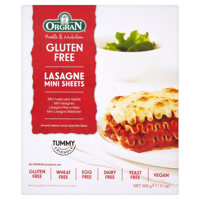 Orgran Free From Mini Lasagne Sheets