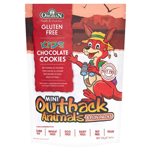 Orgran Gluten Free Mini Chocolate Cookies Multi Pack