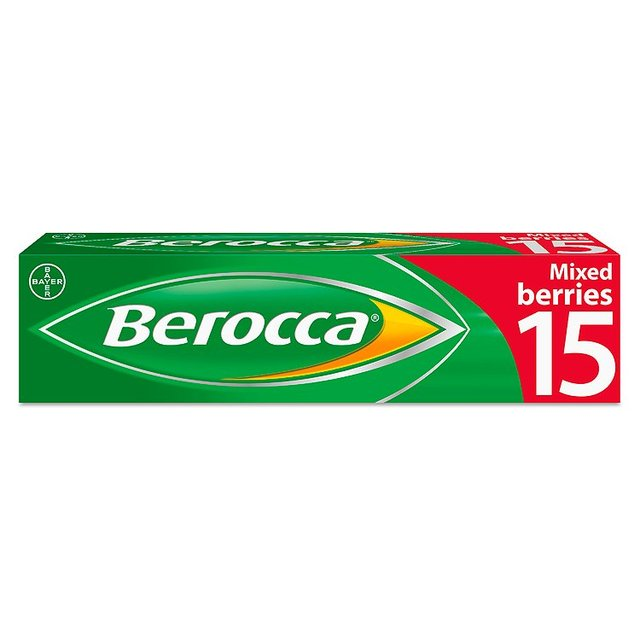 Berocca Mixed Berries Energy Vitamin Tablets