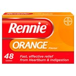 Rennie Orange Heartburn & Indigestion Relief Tablets