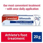 Canesten Athlete's Foot Bifonazole Once Daily 1% w/w Cream