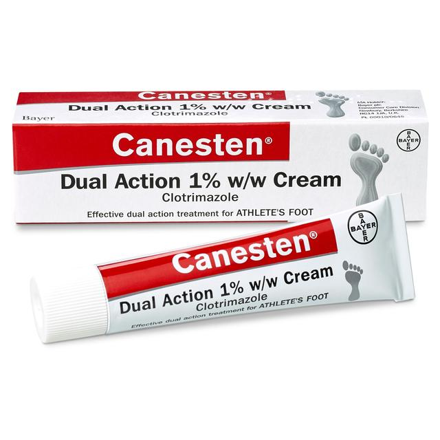 Canesten Athletes Foot Dual Action Cream