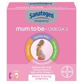 Sanatogen Mother to Be + Omega 3