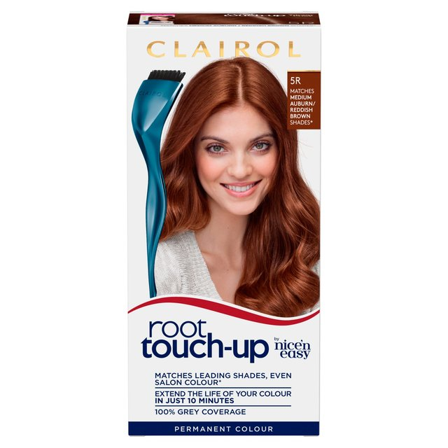Nice N Easy Root Touch Up Medium Reddish Brown 5r Rb From Ocado