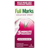 Full Marks Head Lice Spray