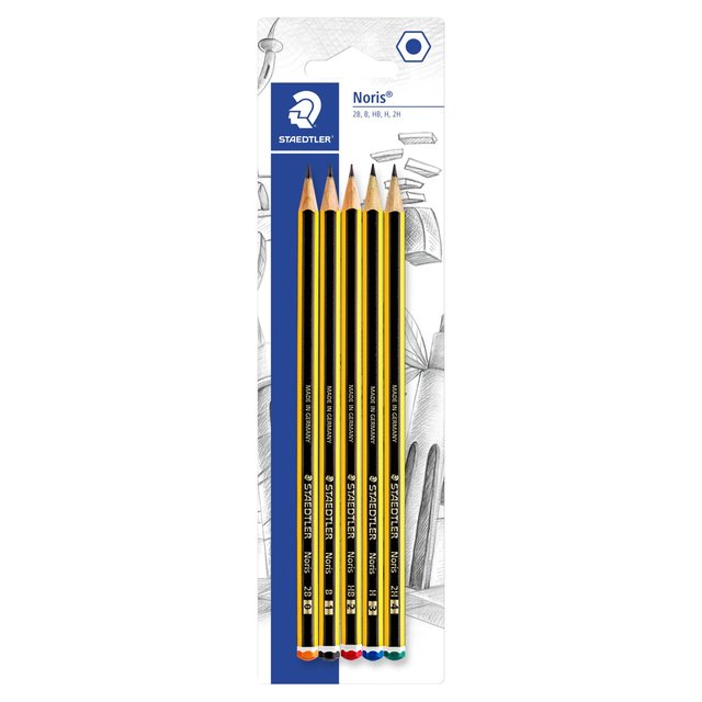 Staedtler Noris Pencils Assorted Grades