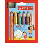 STABILO Woody Colouring Pencils